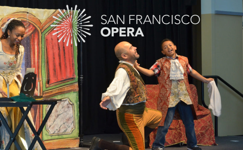 SF Opera & Harvey Milk Student Performance, Tuesday morning Oct. 25
